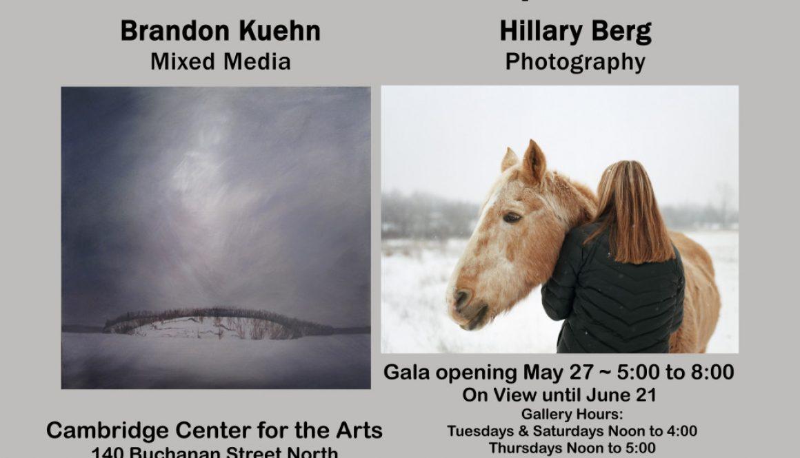 Hillary & Brandon final poster